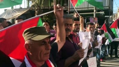 Batı Şeria'dan Gazze'ye destek yürüyüşü - TULKERİM
