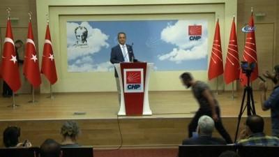 CHP'li Tezcan: 'Gündemimizde istifa ya da kurultay yoktur'
