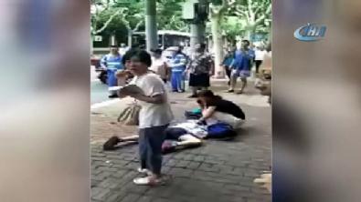 Çin'de okul önünde bıçaklı saldırı