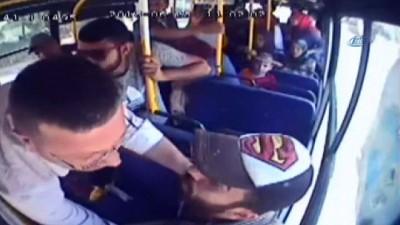Yolcu midibüsündeki dehşet anlar kamerada.... Midibüsün sürücüsünü öldürerek kaçtı