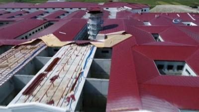 FETÖ'cüler için yapılan cezaevi havadan görüntülendi