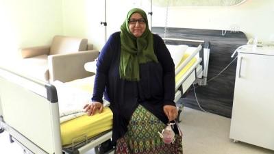 Iraklı Halah obezite tedavisi için Türkiye'yi tercih etti - SİVAS