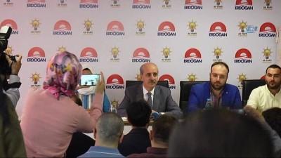 """Kültür ve Turizm Bakanı Numan Kurtulmuş: 'AK Parti kapsayıcı bir partidir"""""""