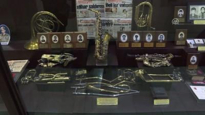 Şehit bandocuların enstrümanları müzede sergileniyor - ANKARA