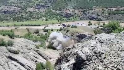 200 kilogramlık patlayıcı düzeneği imha edildi - TUNCELİ