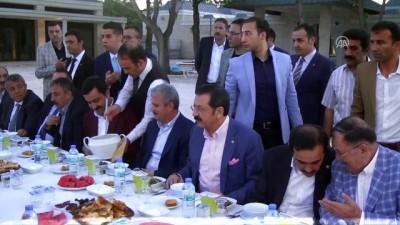 Ahi Evran Külliyesi'nde esnafa ramazan iftarı - KIRŞEHİR