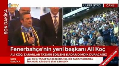 Ali Koç'tan ilk açıklama