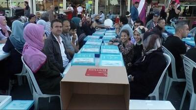 - Başakşehir'de 15 bin kişi iftar sofrasında buluştu