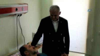 Başbakan Yıldırım, rahatsızlanan Murat Demir'i ziyaret etti