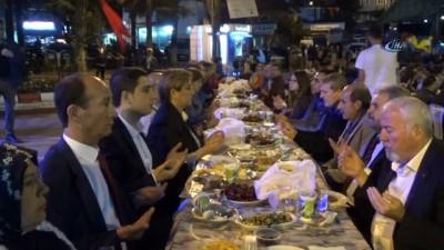 Şaphane ve Konak Belediyesi'nden 'Dayanışma ve Bereket Sofrası'