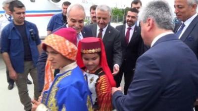 Bakan Arslan ve Fakıbaba, Kars TDİ Besi OSB'nin temelini attı