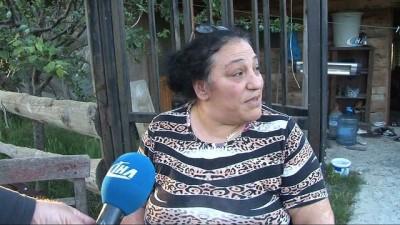 Belediye ekipleri barakayı yıkıp, engelli kadına hakaret etti