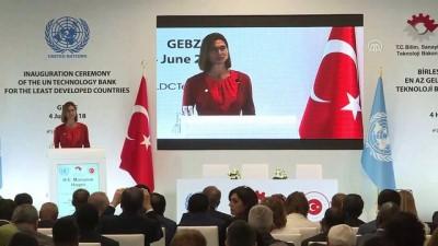 BM En Az Gelişmiş Ülkeler İçin Teknoloji Bankası Açılış Töreni (2) - KOCAELİ