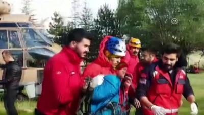 Demirkazık Dağı'nda 3 dağcı mahsur kaldı (2) - NİĞDE