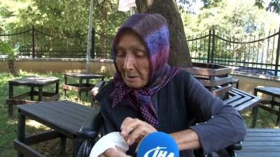 en yasli kadin -  'Dilenmediği' iddiasıyla darp edilen yaşlı kadına devlet sahip çıktı