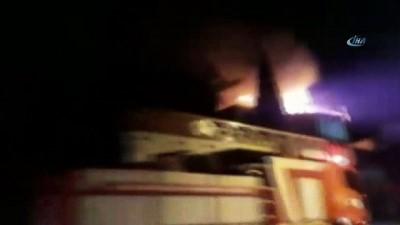 Kahramanmaraş'ta korkutan yangın... İtfaiyenin zamanında müdahalesi olası can kaybının önüne geçti