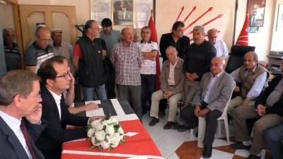 Abdüllatif Şener polis eşliğinde esnaf ziyareti gerçekleştirdi