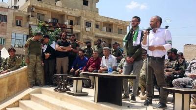 rejim karsiti - Afrinli Kürt genç memleketine sazıyla sözüyle döndü (1) - AFRİN