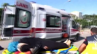 İşçi servisi ile tır çarpıştı: 20 yaralı - AKSARAY