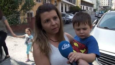 Kemerburgaz'da kör noktada kalan çocuğunu aracıyla altına alan anne o anları anlattı
