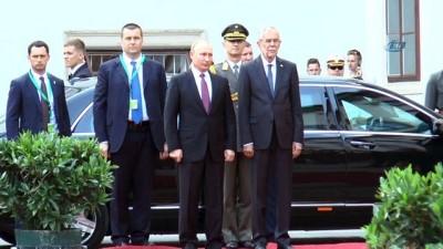 - Putin, Avusturya'da Resmi Törenle Karşılandı