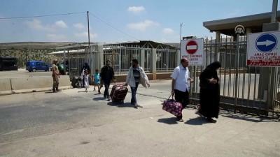 Suriyelilerin Cilvegözü Sınır Kapısı'ndan geçişleri sürüyor - HATAY