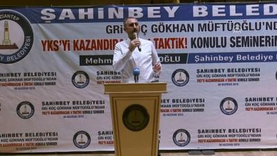 Adalet Bakanı Gül, öğrencilerle buluştu - GAZİANTEP