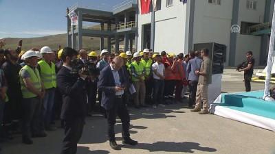 Başbakan Binali Yıldırım, çimento fabrikasının açılışına katıldı - AĞRI