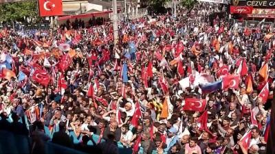 Başbakan Yıldırım: 'Bir tarafta 'Türkiye'yi daha çok büyüteceğim' diyenler, diğer tarafta yıkım ekibi' - AĞRI