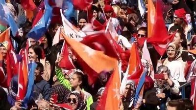 Başbakan Yıldırım: 'Kimse Türklere, Kürtlere devlet kurma küstahlığında bulunmasın.' - AĞRI