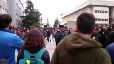 Boğaziçili öğrencilerin 'örgüt propagandası' davasına başlandı