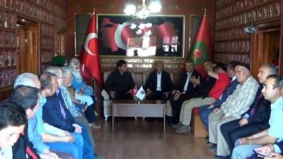 sehit aileleri dernegi -  Hasan Angı ve Tahir Akyürek'ten ziyaretler