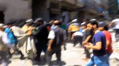rejim -  İdlib'de Hava Saldırısı : 2 Ölü