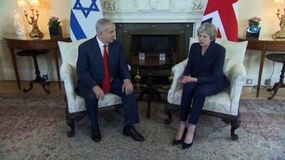 - Netanyahu Avrupa Turundan Eli Boş Döndü - Netanyahu Ve May İngiltere'de Bir Araya Geldi
