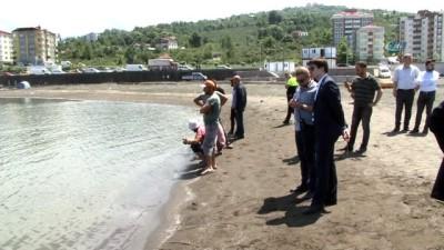 lise ogrencisi -  Doğu Karadeniz'de deniz sezonu acıyla açıldı... Ekipler suda kaybolan lise öğrencisini arıyor