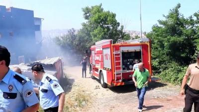 Samsun'da yangın (3)