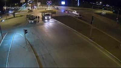 serit ihlali - Trafik kazaları MOBESE kameralarınca görüntülendi - ERZİNCAN