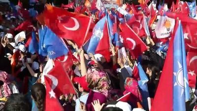 Başbakan Yıldırım: 'Türkiye'de gençleri dağa kaçırma, esnaftan haraç toplama, zorla kepenk kapatma dönemi artık bitmiştir' - MUŞ