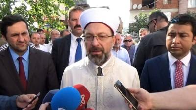 Diyanet İşleri Başkanı Erbaş'tan Avusturya'ya tepki