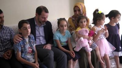Enerji ve Tabii Kaynaklar Bakanı Albayrak'ın ziyaretleri - DİYARBAKIR