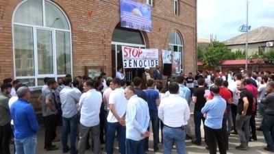 - Gürcistan'dan Filistin'e destek gösterisi