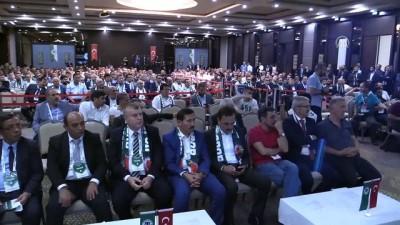 Konyaspor Kulübünün yeni başkanı Hilmi Kulluk oldu - KONYA