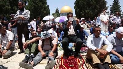 Mescid-i Aksa'da ramazan ayının son cuması - KUDÜS