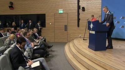 NATO Savunma Bakanları Brüksel'de toplandı