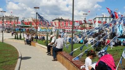 otopark sorunu -  Sivas'ta '15 Temmuz Şehitler Meydanı' açıldı