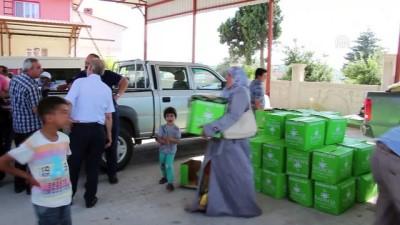 Suriyelilere ramazan yardımı - HATAY
