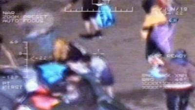 10 bin kaçak göçmen Ege'de yakalandı...Operasyon anları kamerada