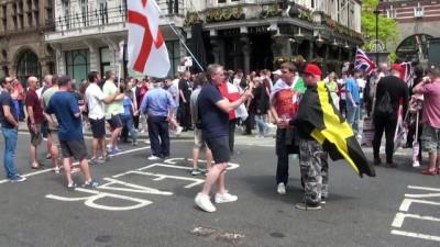Aşırı sağcı gösteri - LONDRA