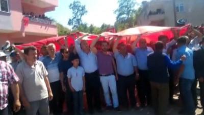 Bingöl şehidi Piyade Jandarma Er Şevki Eren Yatkın, son yolculuğuna uğurlandı