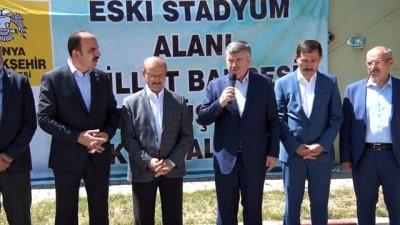 spor musabakasi -  Cumhurbaşkanı Erdoğan'ın talimatıyla Millet Bahçesi dönüşüm çalışmaları başladı